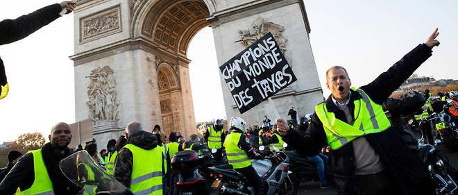 scènes de chaos dans Paris 01 décembre 2018 8510