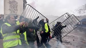scènes de chaos dans Paris 01 décembre 2018 8710