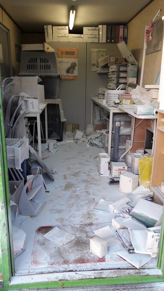 Un Refuge dans le  91  cambriolé et vandalisé HELP . 26167310
