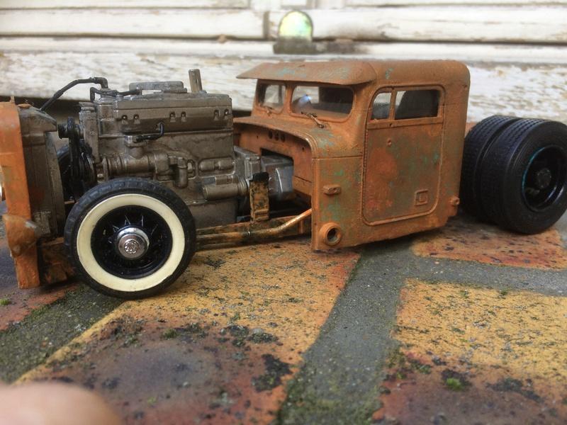 Rats truck  18650b10