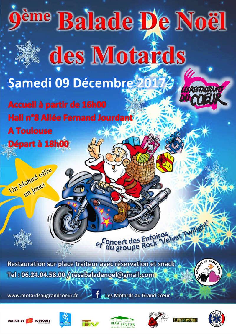 Occitanie - Noël des Motards à Toulouse 09 décembre Balade10