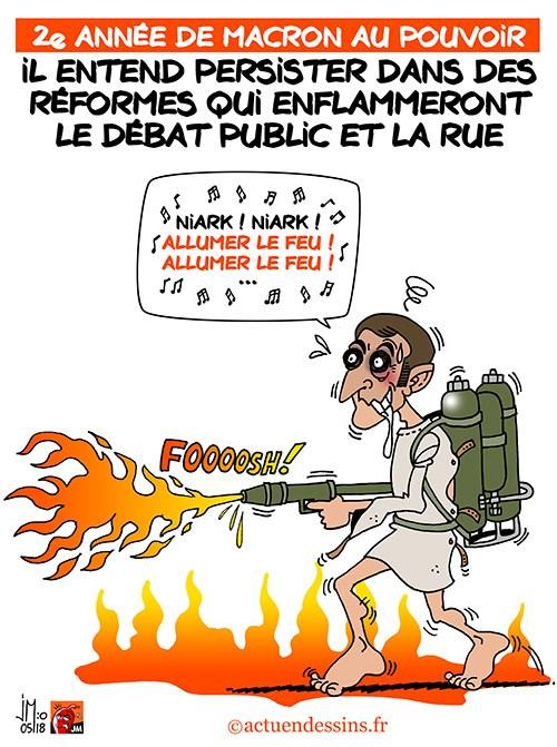 Actu en dessins de presse - Attention: Quelques minutes pour télécharger - Page 15 Macron39