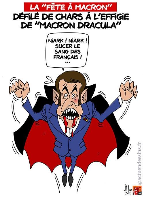 Actu en dessins de presse - Attention: Quelques minutes pour télécharger - Page 15 Macron40