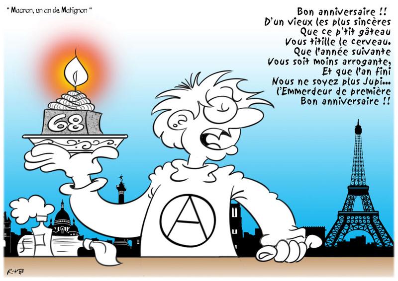 Actu en dessins de presse - Attention: Quelques minutes pour télécharger - Page 15 Macron41
