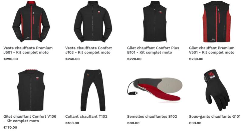 KEIS - Une nouvelle marque de vêtements chauffants arrive en France Snip_362