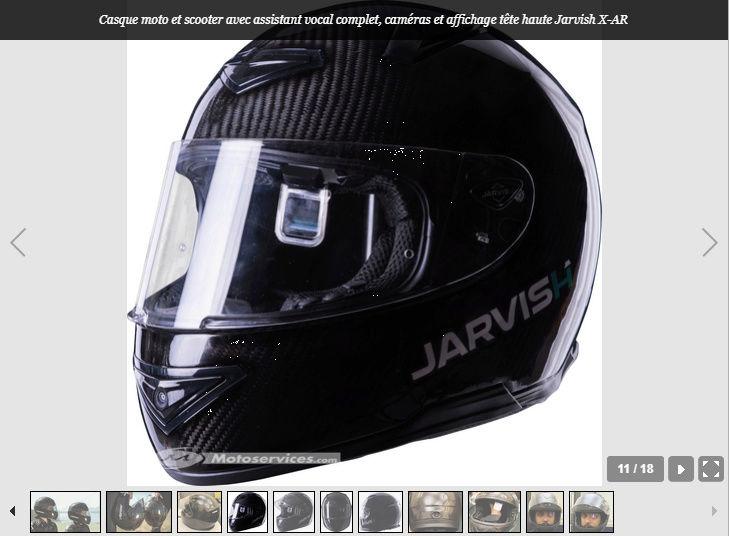 Jarvish intègre la vision tête haute et les assistants vocaux dans ses casques X et X-AR Snip_536
