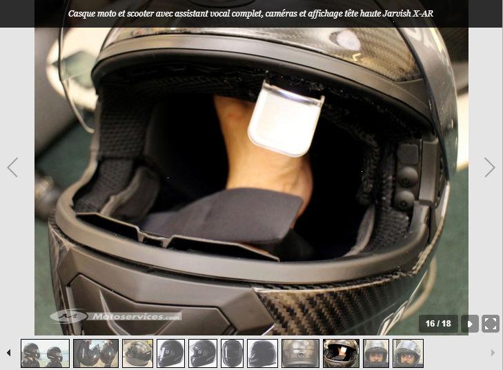 Jarvish intègre la vision tête haute et les assistants vocaux dans ses casques X et X-AR Snip_537