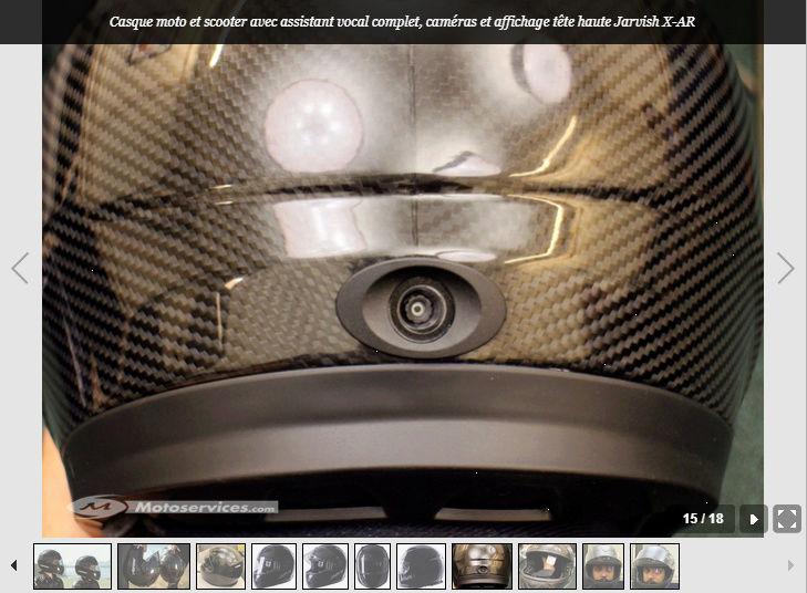 Jarvish intègre la vision tête haute et les assistants vocaux dans ses casques X et X-AR Snip_538