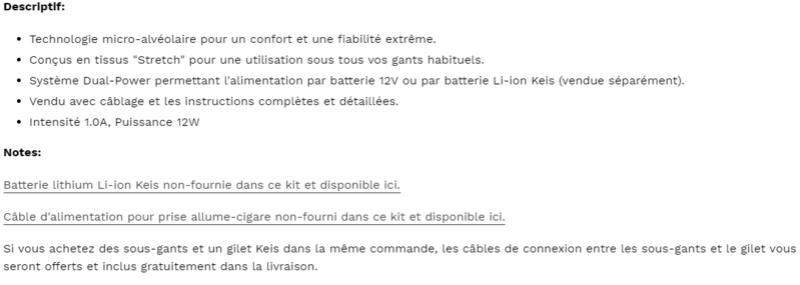 KEIS - Une nouvelle marque de vêtements chauffants arrive en France Snip_561