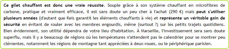 KEIS - Une nouvelle marque de vêtements chauffants arrive en France - Page 2 Snip_653