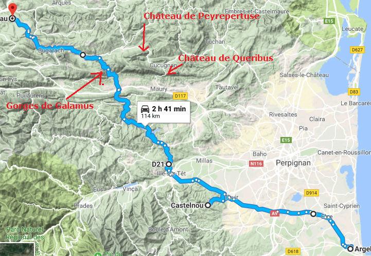"""proposition de rencontre et balade le 26mars """"Rennes le Chateau"""" Tigrou10"""