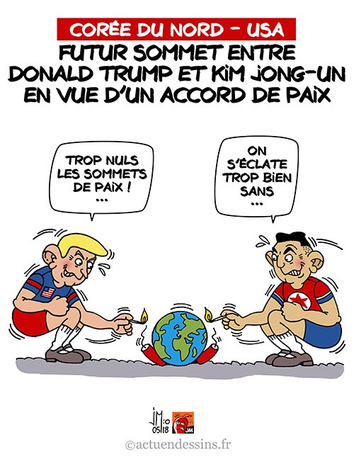Actu en dessins de presse - Attention: Quelques minutes pour télécharger - Page 15 Trump-22
