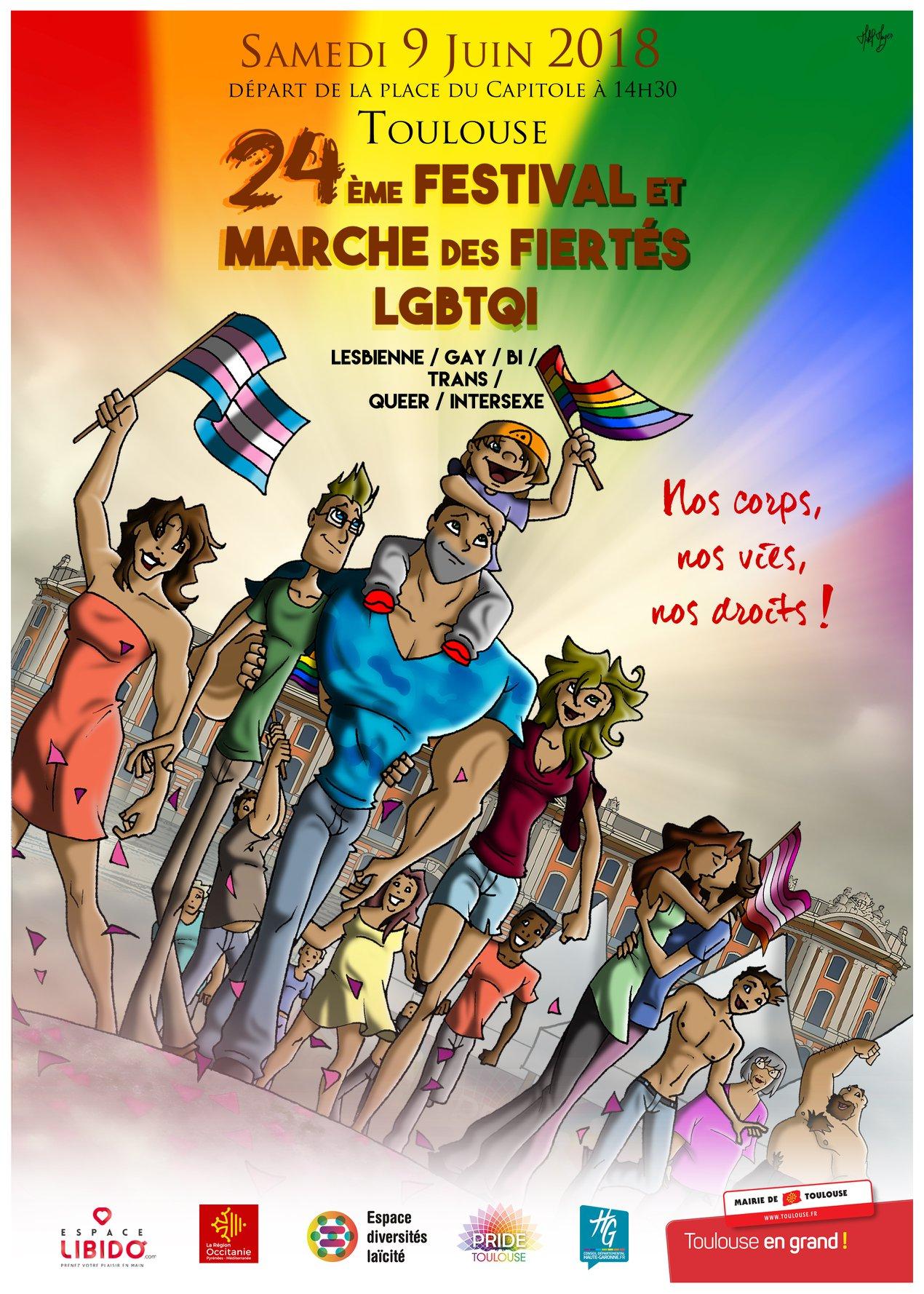 Gay pride 2018 Affich10