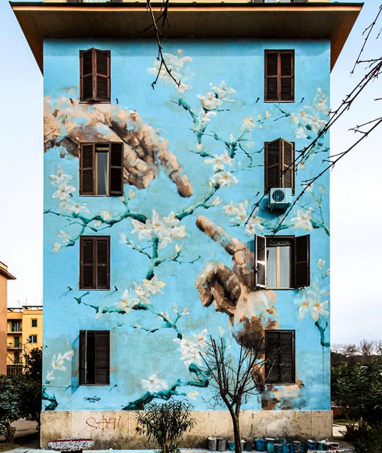 ' Artisti  e pittori da strada' Jerico10