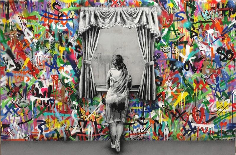 ' Artisti  e pittori da strada' Martin10