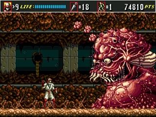 [VS] Hagane VS The Super Shinobi II ! Shi3mg10