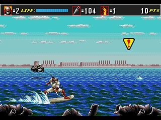 [VS] Hagane VS The Super Shinobi II ! Super-10
