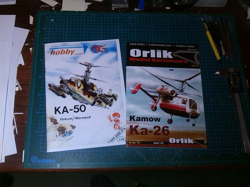 Karton hebt ab, Ka-50 Hobby Model Img_2028