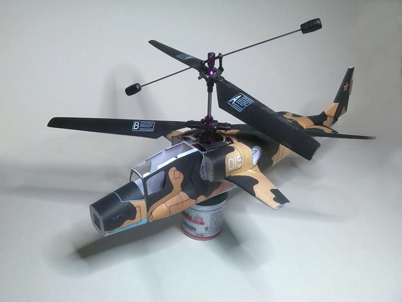 Karton hebt ab, Ka-50 Hobby Model Img_2043