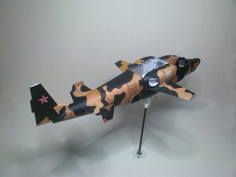 Karton hebt ab, Ka-50 Hobby Model Img_2045