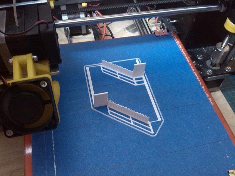 Mein 3D Drucker und Umbau zu Laser Img_2074