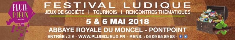 5 et 6 mai 2018 Festival Pluie d'jeux 2018 Bannie10