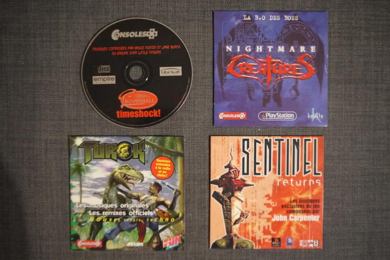 [ESTIM] cd promo magazines b.o de jeux/Jeux Saturn pal et us P1070116