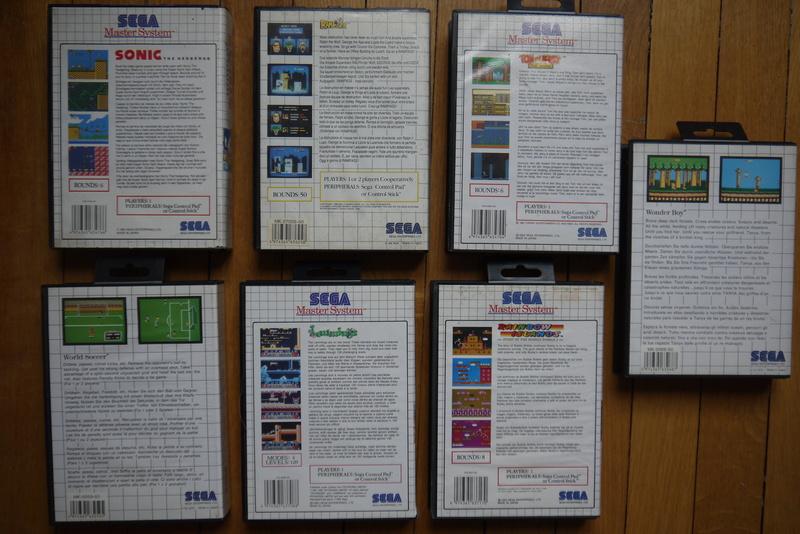 [EST] Jeux Master System P1070313