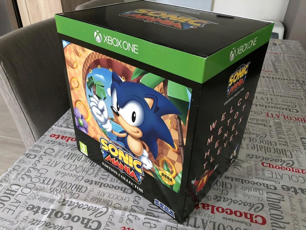 Echange Collector Sonic Mania XBOX neuf Img_4810