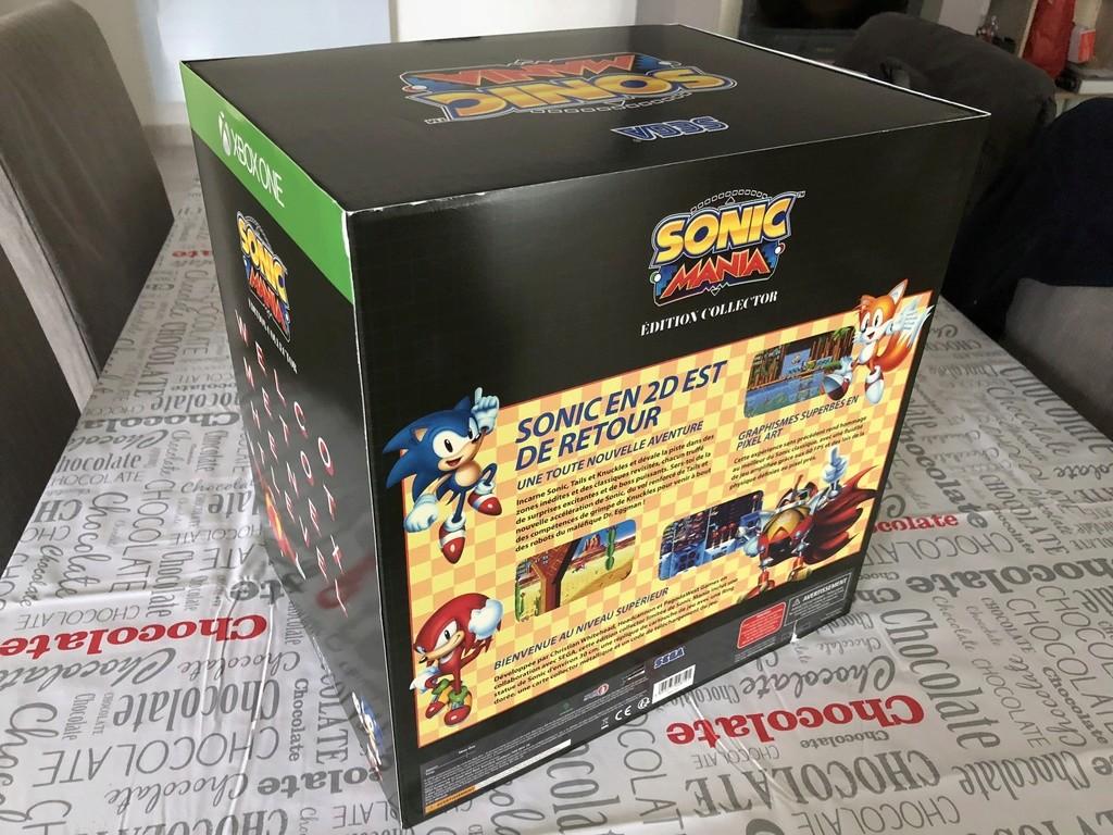 Echange Collector Sonic Mania XBOX neuf Img_4811