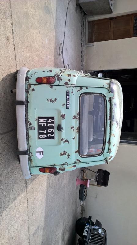 Garage mécanique-carrosserie-peinture pour anciennes Wp_20120