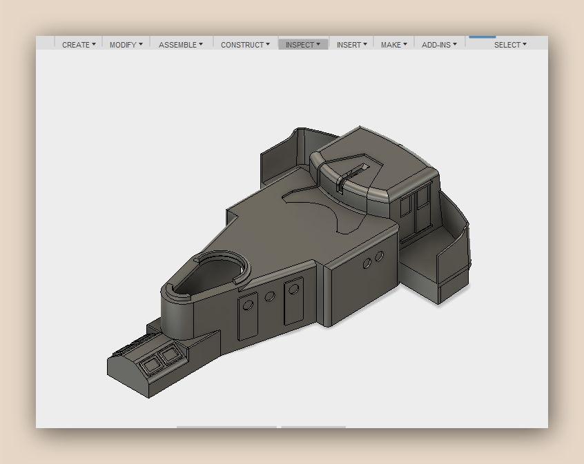 """MB """"Premuda"""" u crtežima CAD programa Fusion12"""