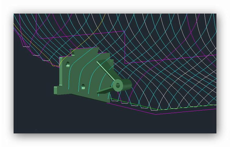"""MB """"Premuda"""" u crtežima CAD programa Mb_pre11"""