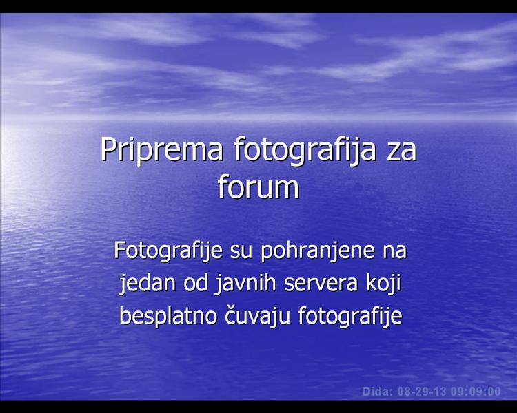 Postavljanje slika na forum Pripre10