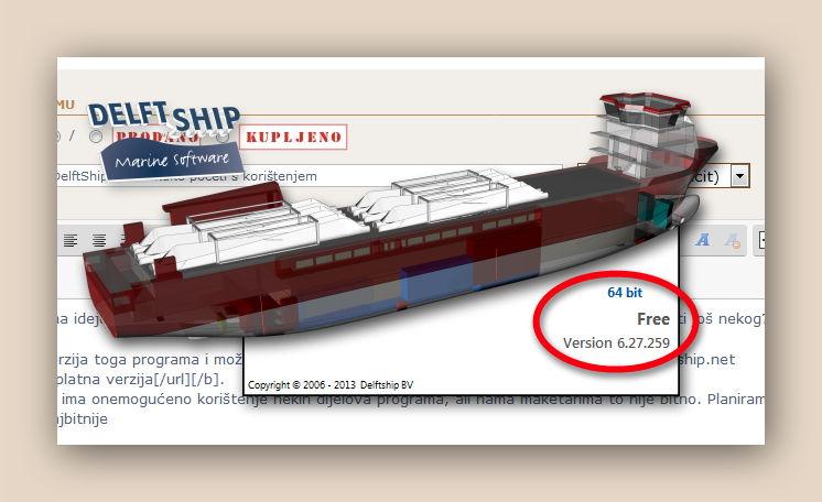 DelftShip Free - kako početi s korištenjem Tinypi16