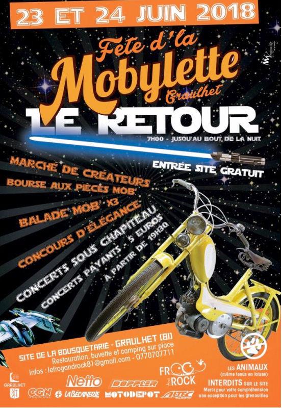 Fête de la Mobylette Graulhet 81 ( Tarn - Occitanie) 33123810