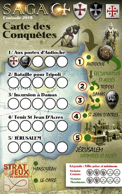 Le croissant et la croix - SAGA Carte-13