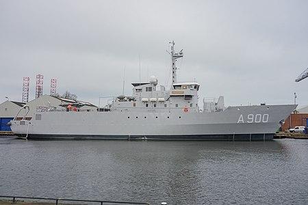 La Belgique prend le commandement de SNMCMG1 450px-10