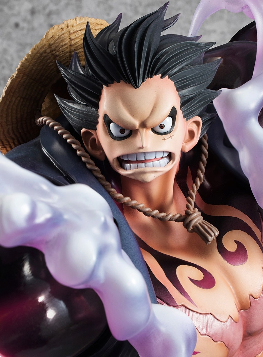 "Megahouse P.O.P Monkey D. Luffy Gear 4 (Boundman) ""SA-MAXIMUM"" Gear_413"