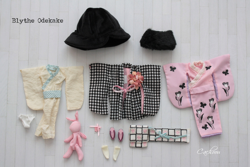 [V] Outfit Blythe Pullip Dal SD MSD YOSD chaussures collants Blythe10