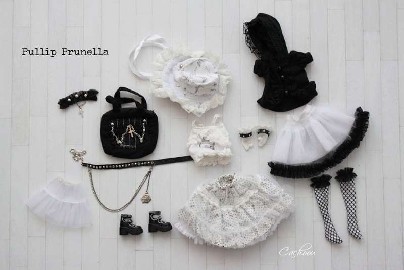 [V] Outfit Blythe Pullip Dal SD MSD YOSD chaussures collants Pullip10