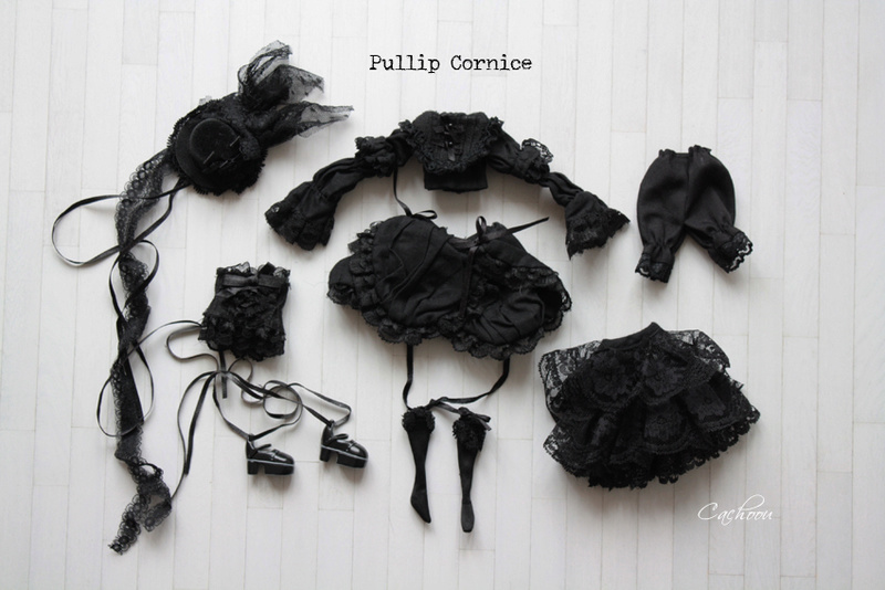 [V] Outfit Blythe Pullip Dal SD MSD YOSD chaussures collants Pullip11