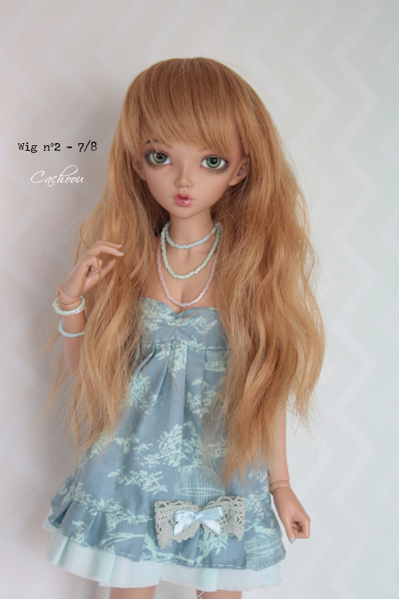 [V] Wigs 5/6 - 6/7 - 8/9 Monique Dollheart Wig0210
