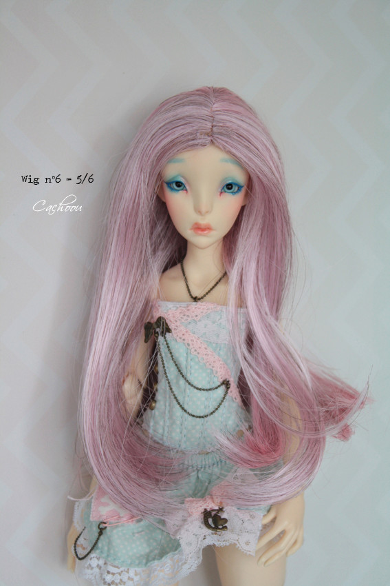 [V] Wigs 5/6 - 6/7 - 8/9 Monique Dollheart Wig0610