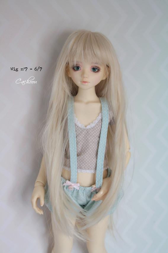[V] Wigs 5/6 - 6/7 - 8/9 Monique Dollheart Wig0710