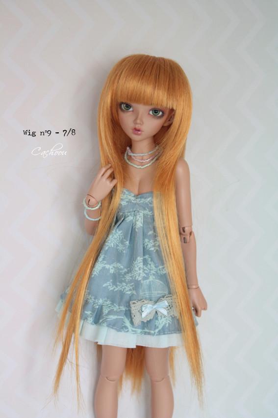 [V] Wigs 5/6 - 6/7 - 8/9 Monique Dollheart Wig0910