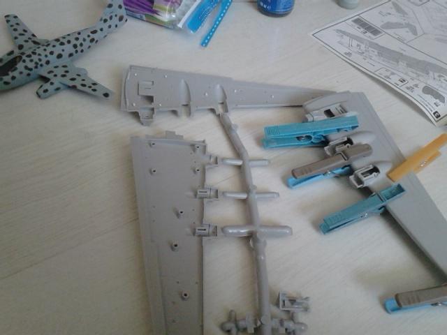 Luftwaffe 46 et autres projets de l'axe à toutes les échelles(Bf 109 G10 erla luft46). - Page 20 Dsc_5112