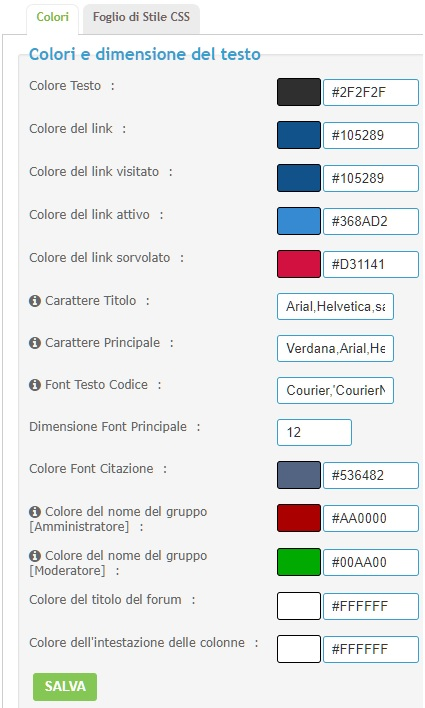 Commentario - tecnico - d'appendice -3 --colours Color-10