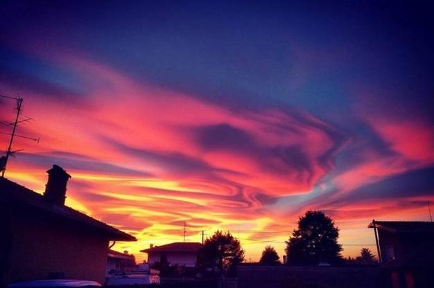 """Gallerie fotografiche : """"Finestra sul cielo""""  Sunset12"""