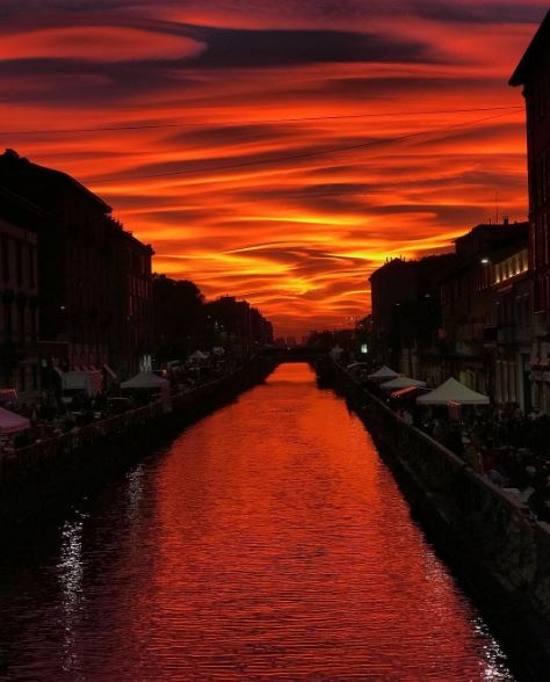 """Gallerie fotografiche : """"Finestra sul cielo""""  Sunset13"""